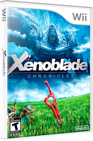 Xenoblade Chronicles - Box - 3D