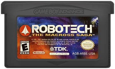 Robotech: The Macross Saga - Cart - Front