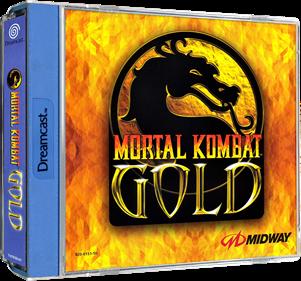 Mortal Kombat Gold - Box - 3D