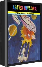 Astro Invader - Cart - 3D