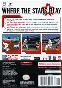 All-Star Baseball 2002 - Box - Back