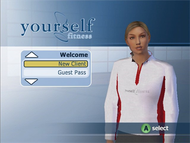 Yourself! Fitness - Screenshot - Game Title