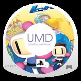 Bomberman Land - Fanart - Disc