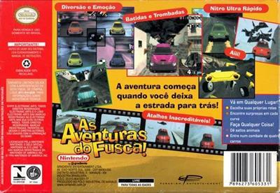 Beetle Adventure Racing! - Box - Back