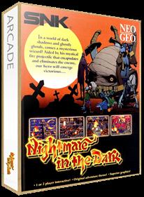 Nightmare in the Dark - Box - 3D