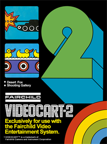 Videocart-2: Desert Fox & Shooting Gallery