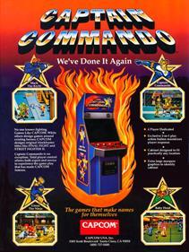 Captain Commando - Box - Back