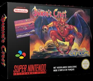 Demon's Crest - Box - 3D