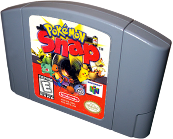 Pokémon Snap - Cart - 3D