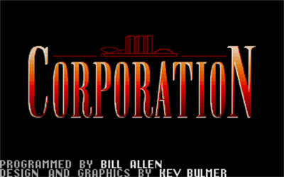Corporation - Screenshot - Game Title