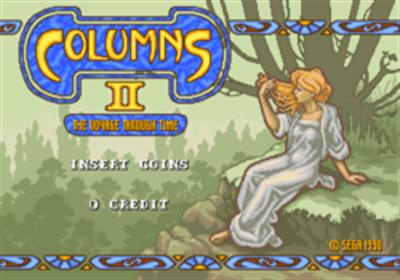 Columns II: The Voyage Through Time - Screenshot - Game Title