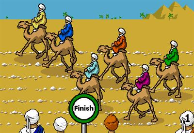 Camel Racer - Screenshot - Gameplay