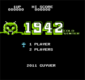 1942: Cold Winter - Screenshot - Game Title
