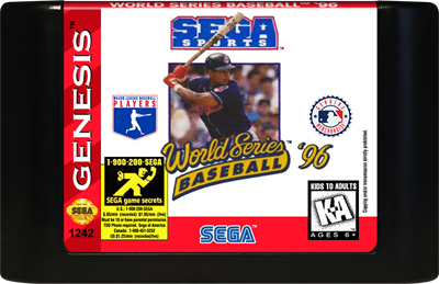World Series Baseball '96 - Cart - Front