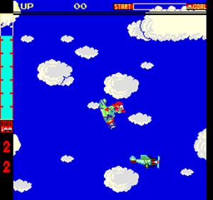 Acrobatic Dog-Fight - Screenshot - Gameplay