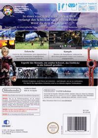 Xenoblade Chronicles - Box - Back