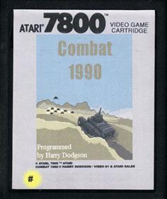 Combat 1990 - Cart - Front