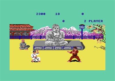 Kung-Fu: The Way of the Exploding Fist - Screenshot - Gameplay