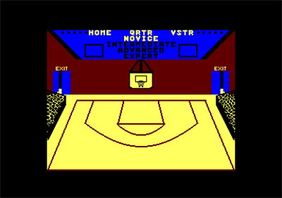 GBA Championship Basketball: Two-on-Two - Screenshot - Game Select