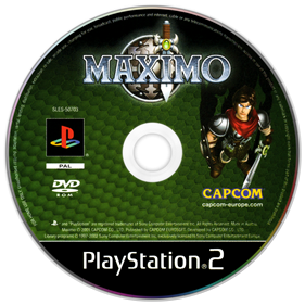 Maximo: Ghosts to Glory - Disc