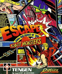 Escape from the Planet of the Robot Monsters