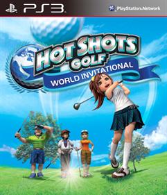 Hot Shots Golf: World Invitational - Fanart - Box - Front