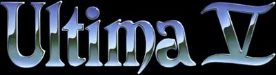 Ultima V: Warriors of Destiny - Clear Logo