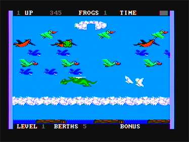 Frogger II: ThreeeDeep! - Screenshot - Gameplay