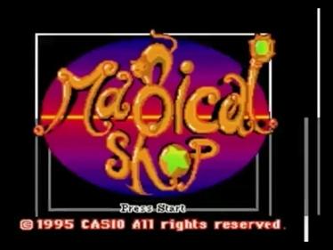 Majikaru Shoppu - Screenshot - Game Title