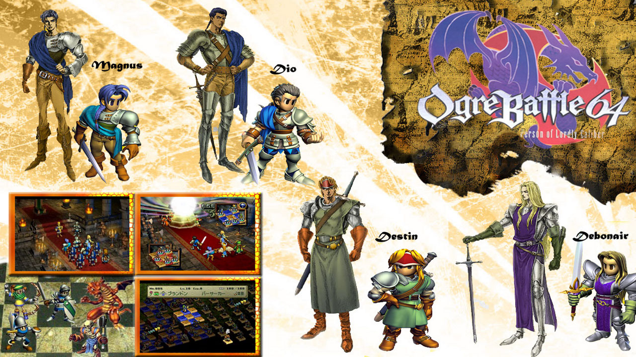 Ogre Battle 64 person Of Lordly caliber wad Download