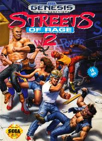 Streets of Rage 2 - Box - Front