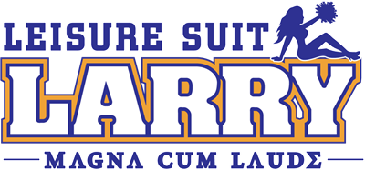 Leisure Suit Larry: Magna Cum Laude - Clear Logo