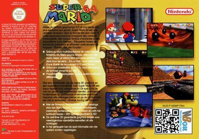Super Mario 64 - Box - Back