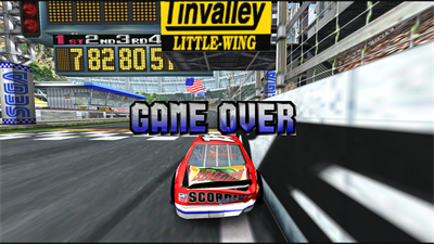 Daytona USA 2: Battle on the Edge - Screenshot - Game Over