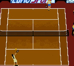 All Star Tennis 2000 - Screenshot - Gameplay