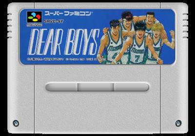 Dear Boys - Fanart - Cart - Front