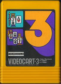 Videocart-3: Video Blackjack - Cart - Front