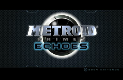 Metroid Prime 2: Echoes - Screenshot - Game Title