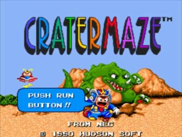 Cratermaze - Screenshot - Game Title