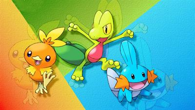 Pokémon Sapphire Version - Fanart - Background