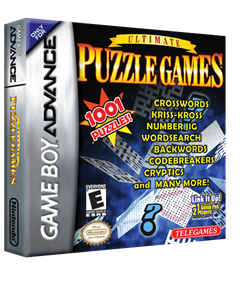 Ultimate Puzzle Games - Box - 3D