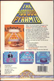 The $100,000 Pyramid - Box - Back
