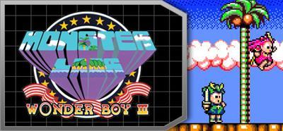 Wonder Boy III: Monster Lair - Banner