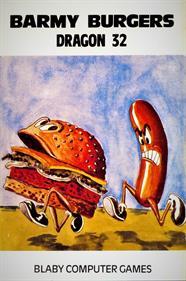 Barmy Burgers - Box - Front