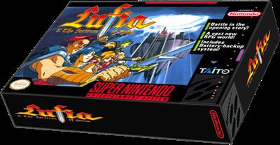 Lufia & the Fortress of Doom - Box - 3D