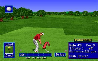 PGA European Tour - Screenshot - Gameplay