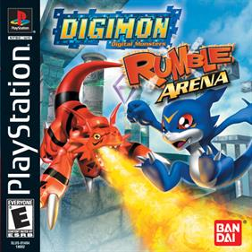 Digimon Rumble Arena - Box - Front