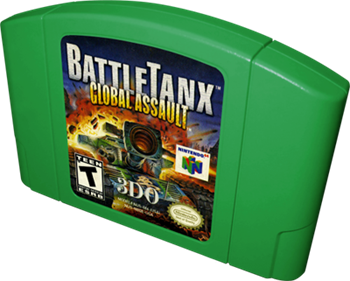 BattleTanx: Global Assault - Cart - 3D
