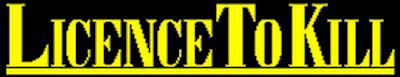 007: Licence to Kill - Clear Logo