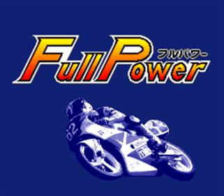 Full Throttle: All-American Racing - Screenshot - Game Title